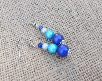 Dangle earrings magic - color choice