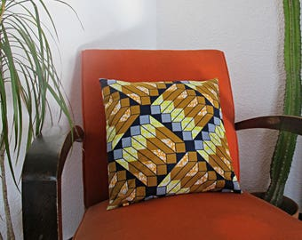 cushions wax geometric square format