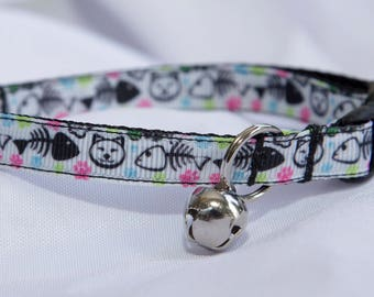 Fish Bone ~ CAT COLLAR