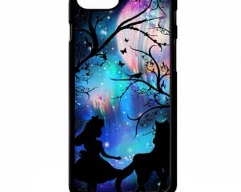 Little red riding hood and the big bad wolf fairy tale pretty graphic cover for iphone 4 4s 5 5s 5c 6 6s 7 plus SE phone case