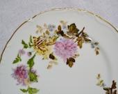 Vintage Halsey Autumn Dawn Salad Plate Pink Brown Floral 562 Replacement Japan PanchosPorch