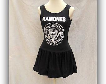 Ramones 1 2 3 4 sleeveless dress