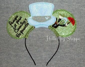Jiminy Crickey Mouse Ears Headband
