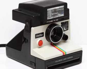 Maxwell PL-50 Flash For Polaroid OneStep Pronto Sonar Button TimeZero SX-70 Film Camera Fully Operational