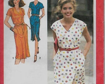 """25% OFF Simplicity 9373     Misses """"Easy-Fitting""""  Dress   Size 10  Uncut"""