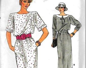 25% OFF Vogue 9281      Misses  Dress         Size 6,8,10   Uncut
