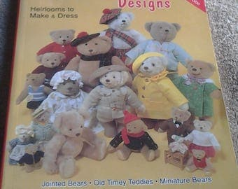 Classic Teddy Bear Designs to Make & Dress