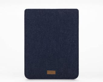 iPad Mini 2 Sleeve - iPad Mini 3 Case - iPad Mini 4 Cover - iPad Mini Leather - Felt Leather Case