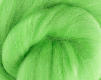 Merino Wool Roving / Combed Top / in DHG Mint