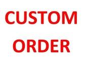 Custom Listing:  Crochet Pommel Pad for JJ
