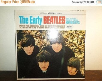 Save 30% Today Vintage 1965 Vinyl LP Record The Early Beatles Excellent Condition ST-2309 Stereo Version 10291