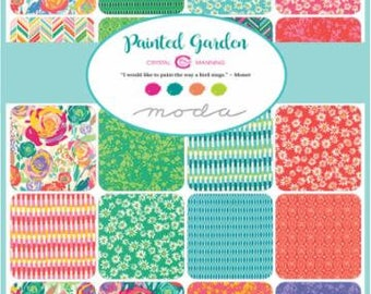 Painted Garden by Crystal Manning - Jelly Roll