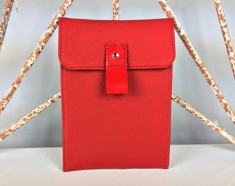 Red Leather Kindle Paperwhite Case