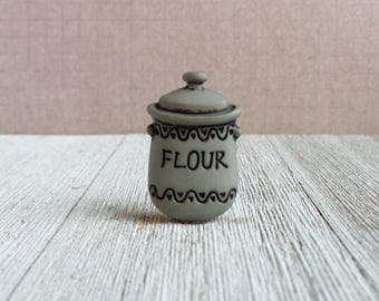 Baking Flour Canister - Baker - Kitchen - Cakes - Desserts - Bread - Lapel Pin