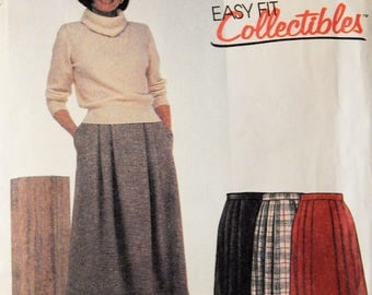 McCall's 2152 Easy Fit Collectibles skirt pattern Uncut Size 16