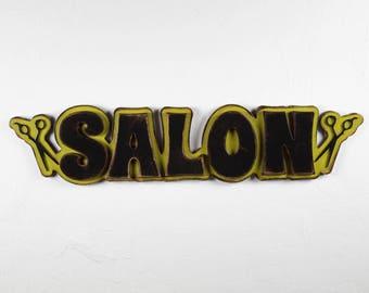Salon Sign Salon Decor  Beauty Salon Decor Hair Salon Decor Beauty Shop Decor Beauty Shop Sign Hair Dresser Barber Shop Beauty Shop Scissors