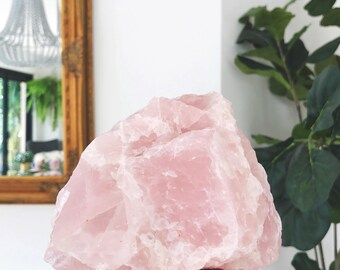 Rose Quartz Rock - (rose quartz no.4)