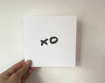 XO Square Card (140mm)