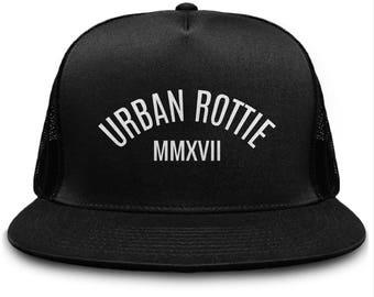 Urban Rottie Snapback, Urban Outfitters, Snapback Hats, Black Snapback, Branded Snapback, Cool, Trending, Popular, Streetwear, Hats,