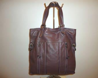 Must See Beautiful Vintage Leather Shoulder Bag