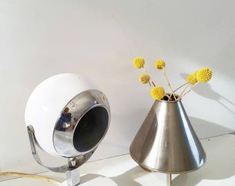 Space age desk lamp / table lamp bulls eye bullet lamp