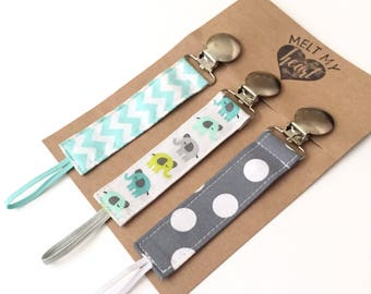 Pacifier Clips - Little Prince Collection