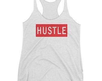Hustle Women's Racerback Tank