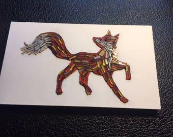 Rustic Fox Mosaic