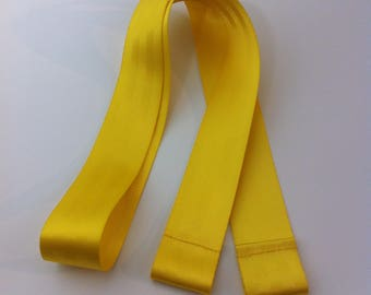 Long seatbelt strap - Sun Yellow