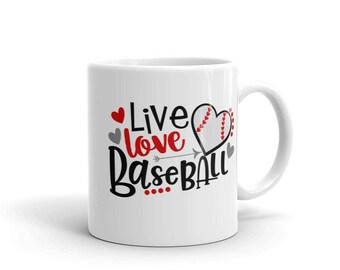 Baseball Lovers Coffee/Tea Mug made in the USA