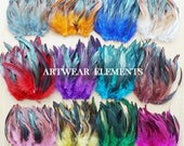 Natural Rooster Tail Feathers, TASSEL SUPPLY, Hair Accessories, Feathers, Craft Feathers, Home Decor, Costume Feathers, ArtWear Elements