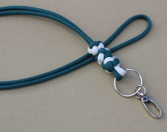 Triple-Knot Paracord Lanyard
