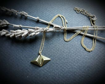 necklace *double triangle*