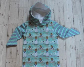 Hooded Top....Sailor Bear