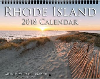 2018 Rhode Island Calendar