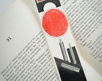 Bookmark - Abstracted collage