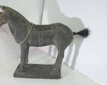 Chinese warrior horse statue