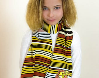 Lion King, Lion King Scarf, Personalised Scarf, Kids Scarf, School Scarf, School Wear, Customised Scarf, Winter Scarf, Childrens Scarf, 357