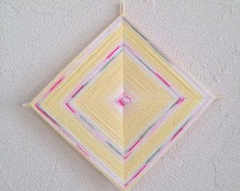 Ojo de Dios mandala for child's room decor