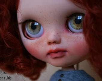 OOAK Custom Art Blythe Doll (TBL) - JULIA- #75# by Carmen Rubio