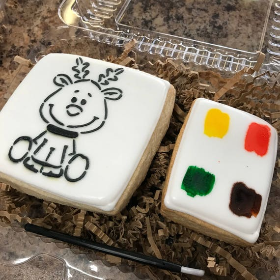 Paint Your Own Christmas Cookie Sets