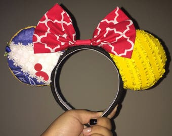 Beauty and the Beast Inspired Minnie Ears