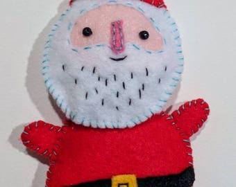 Fat Santa Ornament