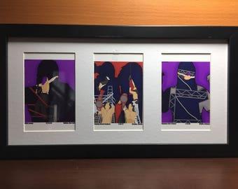 The Hardy Boyz: 14x9 Frame W. 3 Prints