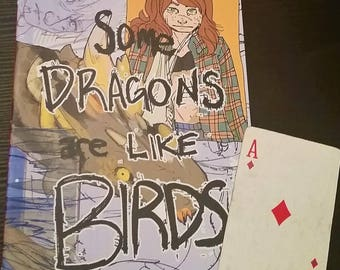 Art Zine: Dragons like Birds