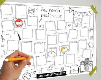Digital file - school - 29 slideshows - guestbook teacher, school, kindergarten, child, Yearbook, students - B