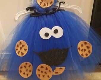 Cookie Monster tutu costume