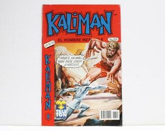 Kaliman El Hombre Increible No 208 El Viaje Fantastico Revista en Español Comic Book in Spanish RARE