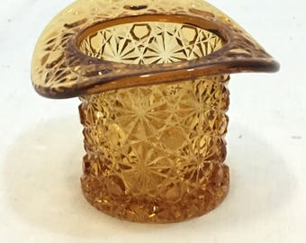 Fenton tophat tooth pick holder