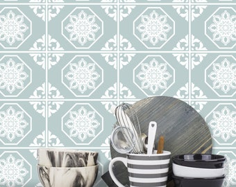 Traditional Tile Stickers Transfers 200mm x 150mm for Kitchen, Bathroom and Furniture DIY - T3